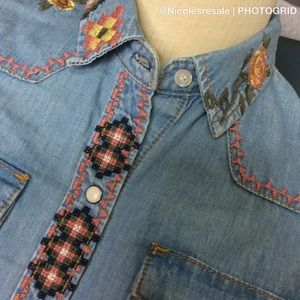 Driftwood Denim Lana Shirt
